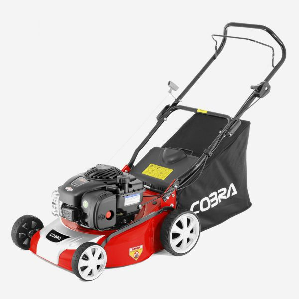 "Cobra M40B 16"" Petrol Powered Lawnmower"